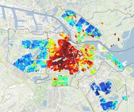 Huizenprijzen in Amsterdam 2015